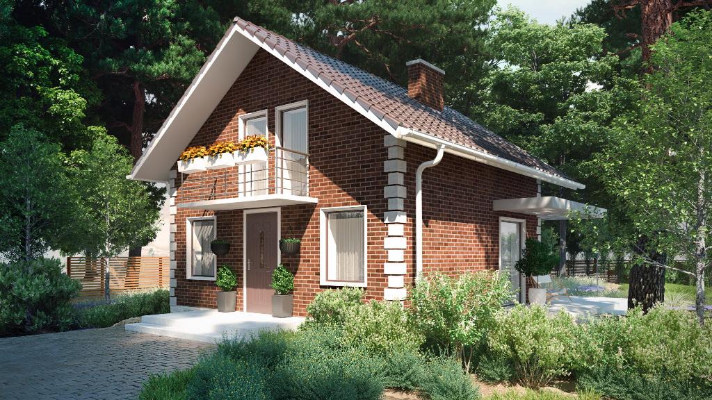 Дом в деревне Ваша дача. Скрипово
